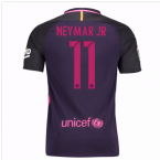 2016-17 Barcelona With Sponsor Away Shirt - (Kids) (Neymar JR 11)