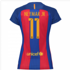 2016-17 Barcelona with Sponsor Womens Home Shirt (Neymar JR 11)