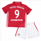 2016-17 Bayern Munich Home Mini Kit (Lewandowski 9)