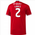 2016-17 Benfica Home Shirt (Lopez 2)