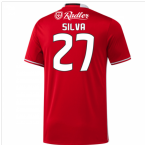2016-17 Benfica Home Shirt (Silva 27)