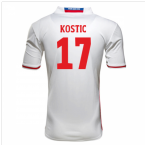 2016-17 Hamburg Sv Home Shirt (Kostic 17)