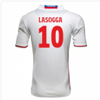 2016-17 Hamburg Sv Home Shirt (Lasogga 10)