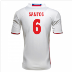 2016-17 Hamburg Sv Home Shirt (Santos 6) - Kids