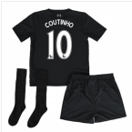 2016-17 Liverpool Away Mini Kit (Coutinho 10)