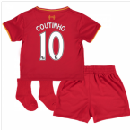 2016-17 Liverpool Home Baby Kit (Coutinho 10)