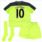 2016-17 Liverpool Third Mini Kit (Coutinho 10)
