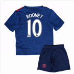 2016-17 Man United Away Baby Kit (Rooney 10)