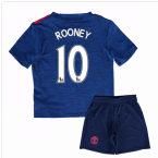 2016-17 Man United Away Mini Kit (Rooney 10)