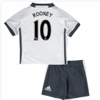 2016-17 Man United Third Mini Kit (Rooney 10)