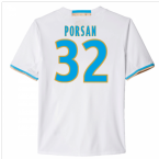2016-17 Marseille Home Shirt (Porsan 32)