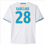 2016-17 Marseille Home Shirt (Rabillard 28)