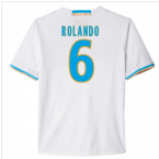 2016-17 Marseille Home Shirt (Rolando 6)