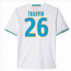 2016-17 Marseille Home Shirt (Thauvin 26)