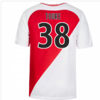2016-17 Monaco Home Shirt (Toure 38)
