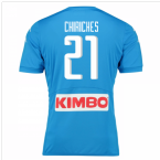 2016-17 Napoli Authentic Home Shirt (Chiriches 21)