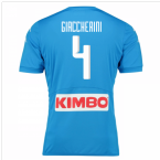 2016-17 Napoli Authentic Home Shirt (Giaccherini 4)