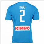 2016-17 Napoli Authentic Home Shirt (Hysaj 2)
