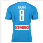 2016-17 Napoli Authentic Home Shirt (Jorginho 8)