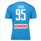 2016-17 Napoli Authentic Home Shirt (Lasicki 95)