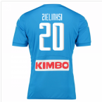 2016-17 Napoli Authentic Home Shirt (Zielinksi 20)