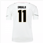 2016-17 Palermo Away Shirt (Embalo 11)