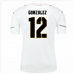 2016-17 Palermo Away Shirt (Gonzalez 12)