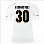2016-17 Palermo Away Shirt (Nestorovski 30)