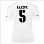 2016-17 Palermo Away Shirt (Rajkovic 5)