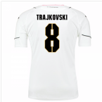 2016-17 Palermo Away Shirt (Trajkovski 8)