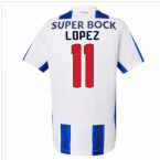 2016-17 Porto Home Shirt (Lopez 11)