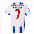 2016-17 Porto Home Shirt (Varela 7)