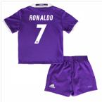 2016-17 Real Madrid Away Baby Kit (Ronaldo 7)