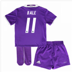 2016-17 Real Madrid Away Mini Kit (Bale 11)