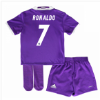 2016-17 Real Madrid Away Mini Kit (Ronaldo 7)