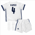 2016-17 Real Madrid Home Baby Kit (Ramos 4)