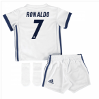 2016-17 Real Madrid Home Baby Kit (Ronaldo 7)