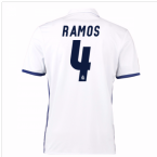 2016-17 Real Madrid Home Shirt (Ramos 4) - Kids