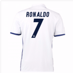 2016-17 Real Madrid Home Shirt (Ronaldo 7)