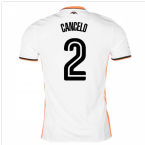 2016-17 Valencia Home Shirt (Cancelo 2)