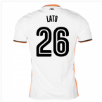 2016-17 Valencia Home Shirt (Lato 26)
