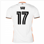 2016-17 Valencia Home Shirt (Nani 17)