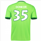 2016-17 Wolfsburg Home Shirt (Donkor 35) - Kids