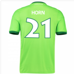 2016-17 Wolfsburg Home Shirt (Horn 21) - Kids