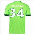 2016-17 Wolfsburg Home Shirt (Rodriguez 34) - Kids
