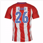 2016-17 Atletico Madrid Home Shirt (Cerci 26) - Kids
