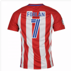 2016-17 Atletico Madrid Home Shirt (Forlan 7) - Kids