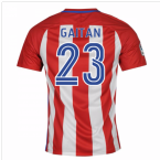 2016-17 Atletico Madrid Home Shirt (Gaitan 23) - Kids