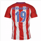 2016-17 Atletico Madrid Home Shirt (Hernandez 19) - Kids