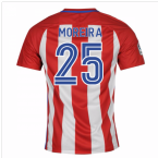 2016-17 Atletico Madrid Home Shirt (Moreira 25) - Kids